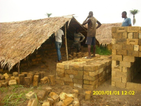 Bricks for Agro-Veterinary School in Mabala