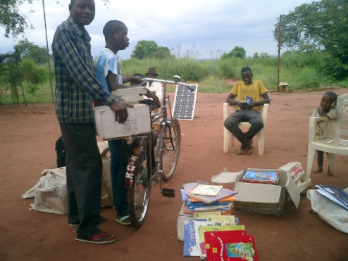New Schoolbooks for our School in Mushapo