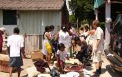...und die Armen in den Sumpfgebieten am Rande von Boca del Rio.