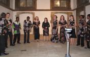 Benefizveranstaltung: Jacques' Ensemble mit afrikanischen Rhythmen.