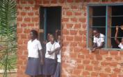 The happy school children make it worth it all.