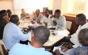 … mit Gilbert und BBK-Mitgliedern in Kinshasa
