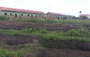 Landwirtschaftsprojekt und -ausbildung für die Schüler direkt neben der Schule
