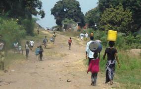 Typical scene in Kinshasa.