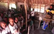 10. Classroom in Kakondo village school