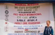 14. In 2000: Lenka at Nigerian medical camps